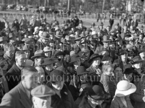 Crowd at opening of crematorium at Beresfield (Newcastle, NSW), July 18, 1936. (2)