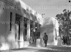The opening of crematorium at Beresfield (Newcastle, NSW), July 18, 1936. (4)