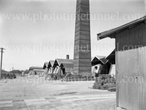 Turton's brickworks at East Maitland, NSW, April 1960.