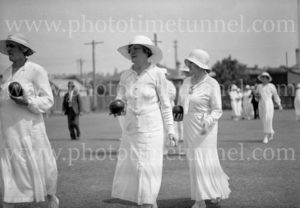 Torpey Place Ladies Bowling Club, Broadmeadow, Newcastle, NSW, November 20, 1935. (4)