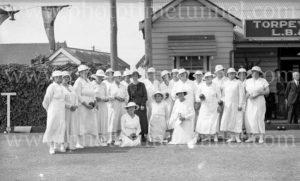 Torpey Place Ladies Bowling Club, Broadmeadow, Newcastle, NSW, November 20, 1935. (7)