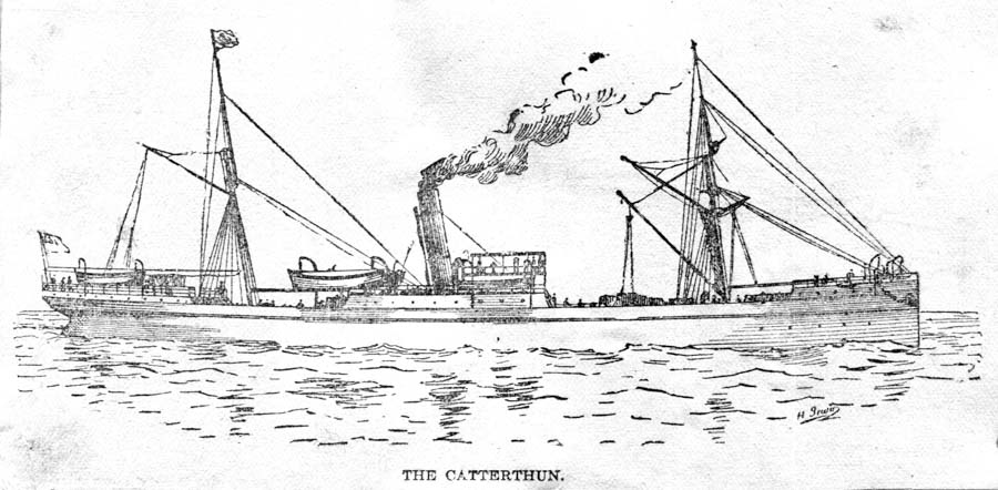 The Catterthun sinking at Seal Rocks, NSW
