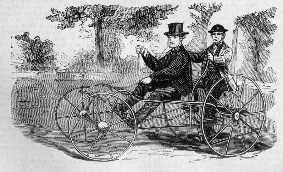 Velocipedia: some ancestors of the bicycle