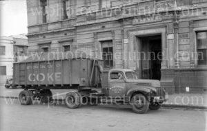 W. Rodgerson truck in Melbourne, Victoria, circa 1950.