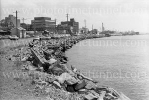 Wharf Road, Newcastle Harbour, November 8, 1977.