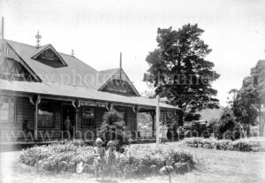 Refreshment rooms, Speers Point Park, Lake Macquarie, NSW, circa 1930s.