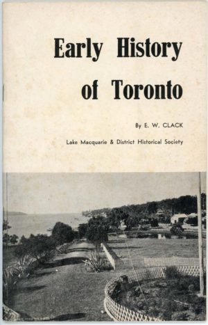 Early History of Toronto, by E. W. Clack (secondhand book)