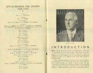 History of Newcastle City Bowling Club, 50th anniversary 1939. PDF download.