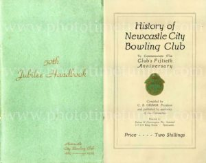 History of Newcastle City Bowling Club, 50th anniversary 1939. PDF download.