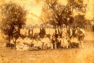 Coolabah and Byrock (NSW) cricket teams, 1898.