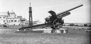 "Some of Australia's Great War ""trophy guns"""