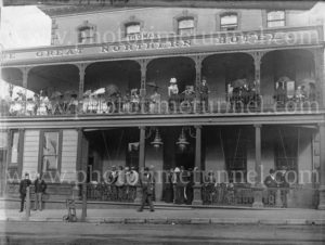 The Great Northern Hotel, Newcastle, NSW, c1900