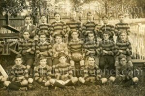 North Sydney schoolboys' football team, 1912.