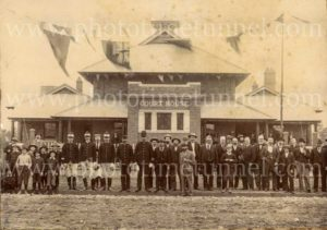 Nyngan Courthouse (NSW), c1900.