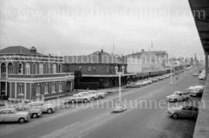 Street scene, Bathurst, NSW, circa 1960s.