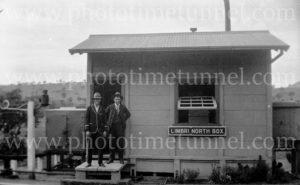 Railway signal box, Limbri North, NSW, c1930s.