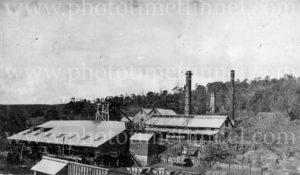 Whitburn Colliery, Newcastle area, circa 1930s.