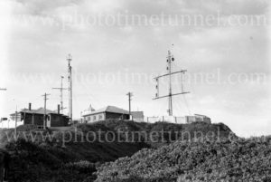 Nobbys lighthouse and signal station, Newcastle, NSW, June 9, 1947.