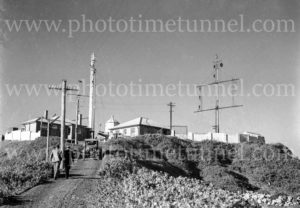 Nobbys lighthouse and signal station, Newcastle, NSW, June 9, 1947. (2)