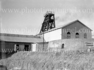 Buildings at Burwood Colliery, Whitebridge, NSW, circa 1940s. (2)