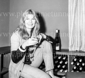 Loretta Swit at Pokolbin, near Cessnock. NSW, 1970s.