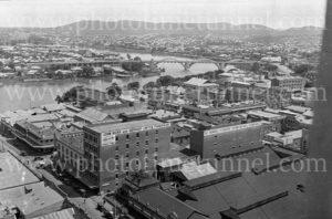Brisbane, elevated view, circa 1930s.