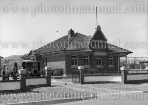 Boolaroo mines rescue station, NSW, December 23, 1937.