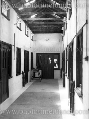 Interior view of Boolaroo mines rescue station, NSW, December 23, 1937.