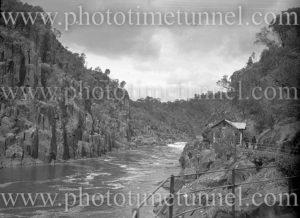 Entrance to Cataract Gorge, Launceston, Tasmania, January 4, 1937.