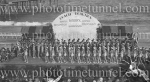Beach Beauties pageant, Coogee, December 12, 1932.