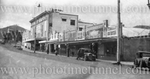 Capitol Theatre and Clifton's Garage, Tamworth, circa 1930s.
