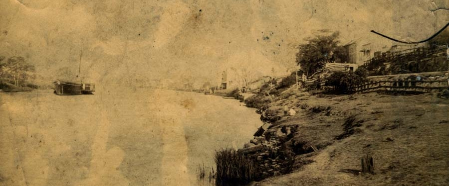 To Morpeth by steamer