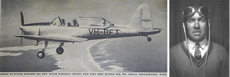 Frank Wainman, Cooranbong's intrepid aviator