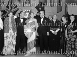 Rotary pageant of the democracies, Newcastle City Hall, NSW, August 5, 1941.