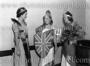 Rotary pageant of the democracies, Newcastle City Hall, NSW, August 5, 1941. (2)