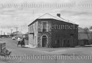 Miss Clara Mayer's house, Cowper Street, Wallsend (Newcastle) circa 1966.