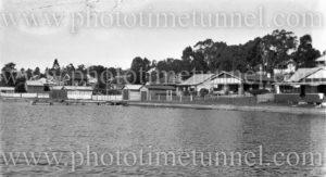 Foreshore at Toronto, Lake Macquarie, NSW. Circa 1930s