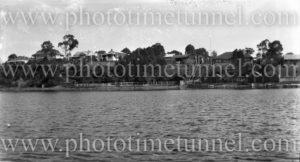 Foreshore at Toronto, Lake Macquarie, NSW. Circa 1930s (3)