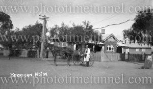 Post Office, Berrigan, NSW, circa 1920s.