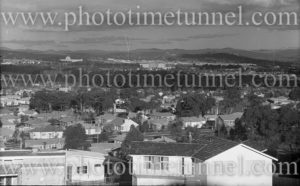 View of Canberra, ACT, circa 1940s.