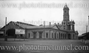 Ballarat Railway Station, Victoria, circa 1920s.