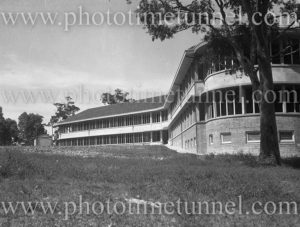 Rankin Park Hospital, New Lambton Heights (Newcastle), NSW, before its opening, April 14, 1947. (2)