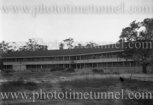 Rankin Park Hospital, New Lambton Heights (Newcastle), NSW, before its opening, April 14, 1947. (3)