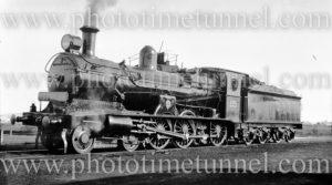 Locomotive 3313 with Express headboard