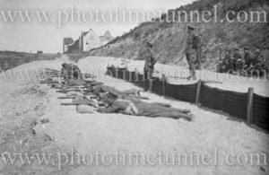 British 21st Brigade signal section at rifle practice, Bonn, Germany, June 7, 1919.