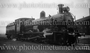 Locomotive 3313 with Express headboard (2)