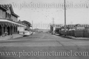 Lawson Street, Hamilton (Newcastle), NSW, April 24, 1948.
